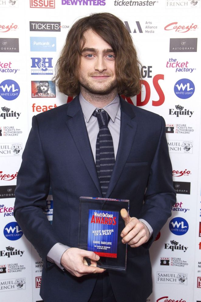 Daniel Radcliffe Sports Long, Unruly Hair