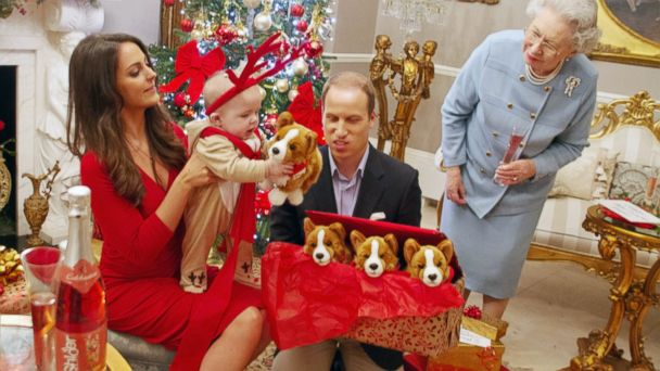 rex royal christmas spoof 1 ll 131212 16x9 608 Prince George Celebrates His First Royal Christmas (Sort Of)