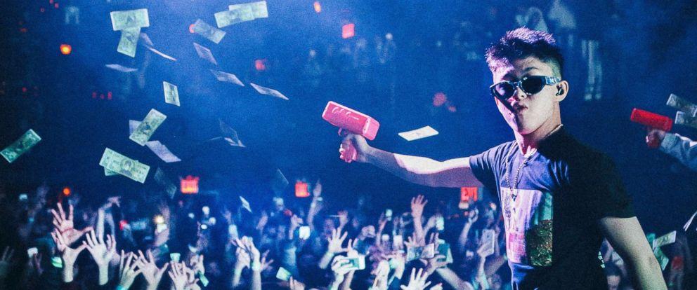 PHOTO: Rich Chigga, aka Brian Imanuel, performs at at New Yorks Irving Plaza on Nov. 5, 2017.