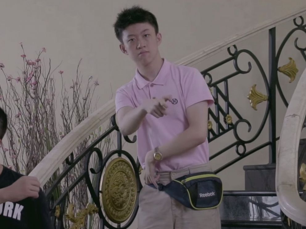 PHOTO: Brian Imanuel, aka Rich Chigga, appears in his music video for his hit song Dat $tick.