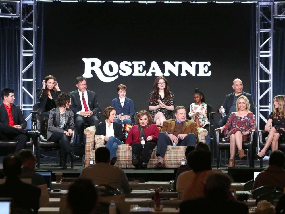 Roseanne thinks she'd make a better president than Oprah