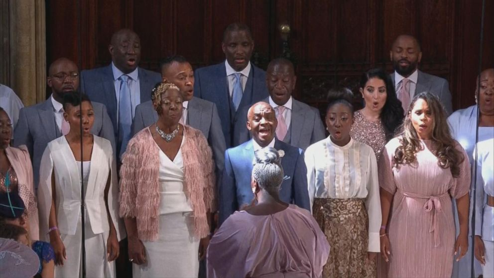 Custom Exhibition Stand By Me Royal Wedding : Gospel choir steals the show at royal wedding abc