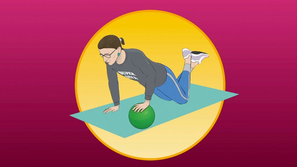 Shape up with Ruth Bader Ginsburg's official workout