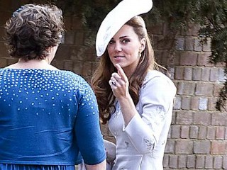 Photos: Kate Middleton Sparkles at Friend's Wedding