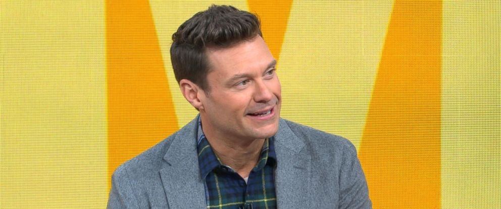 "PHOTO: Ryan Seacrest appears on ""Good Morning America,"" Dec. 29, 2017 to discuss what is in store for this years New Years Eve TV special."