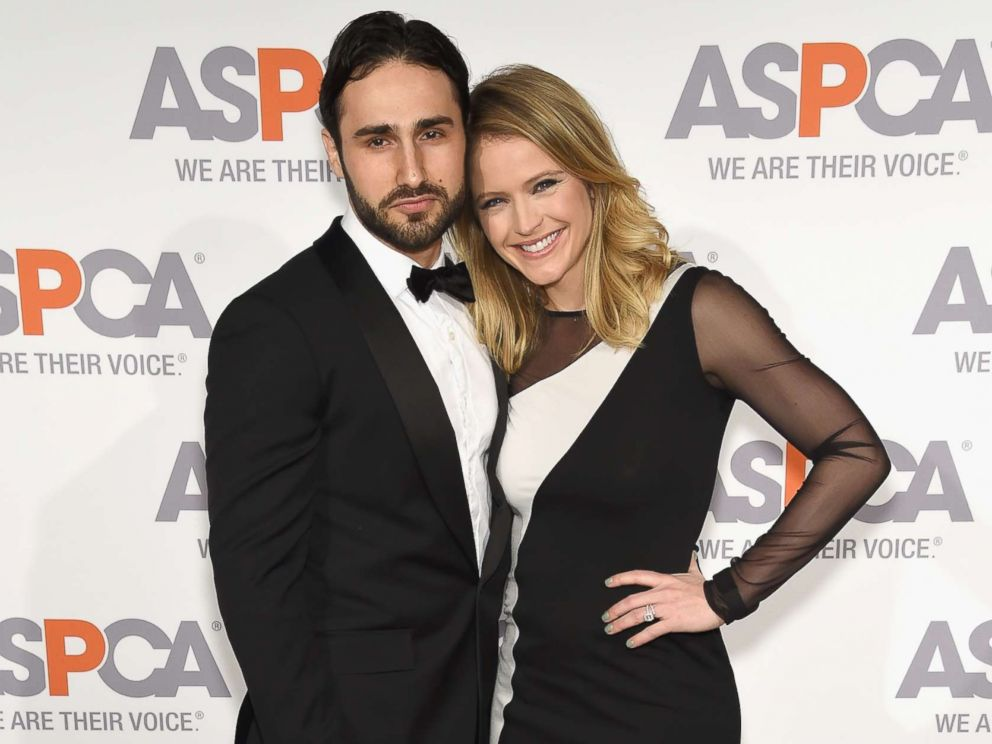 PHOTO: Max Shifrin (L) and Sara Haines attend ASPCAS 18th Annual Bergh Ball honoring Edie Falco and Hilary Swank at The Plaza Hotel, April 9, 2015 in New York City.