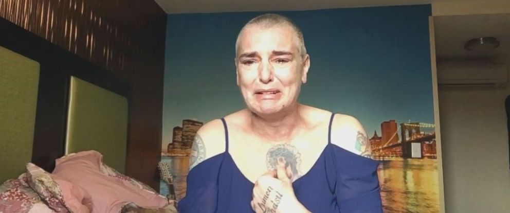 """PHOTO: Sinead OConnor posted this video on Facebook with the caption: """"OneOfMillions,"""" Aug. 3, 2017."""