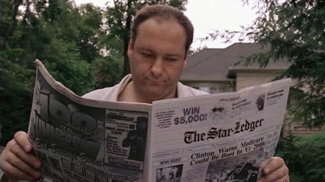 Famous scenes from HBO's 'The Sopranos.'
