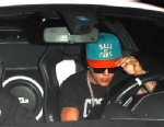 PHOTO: Justin Bieber was seen leaving the Laugh Factory in Los Angeles moments before he allegedly ran over a photographer in his white Ferrari, June 18, 2013.