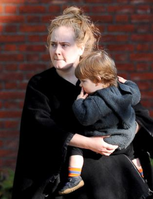 Meet Adele's Son!