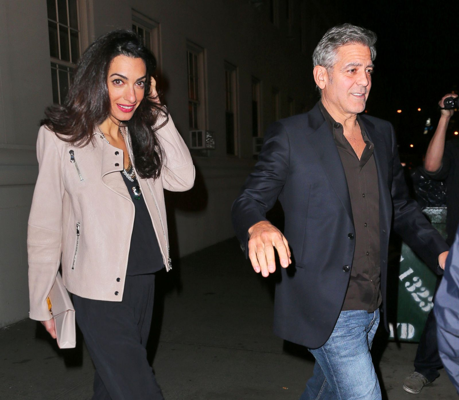 George and Amal Are NYC-Bound