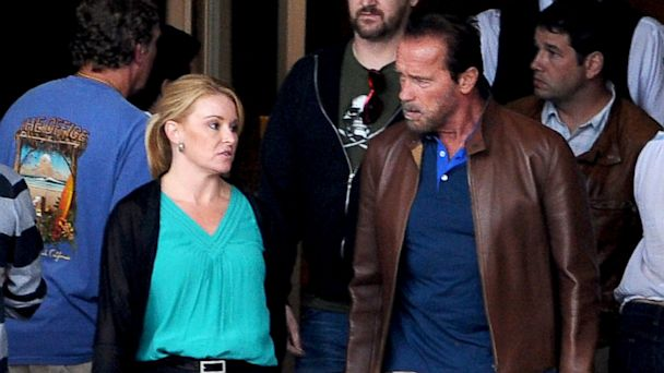 spl arnold gf kb 130924 16x9 608 Photo: Does Arnold Schwarzenegger Have a New Blonde Girlfriend?