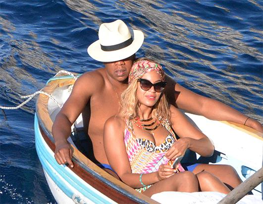Inside Jay-Z and Beyonce's Yacht Vacation
