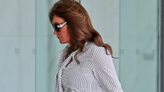Caitlyn Jenner Goes Professional for a Meeting