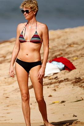 Charlize Theron Sizzles in a Teeny Bikini