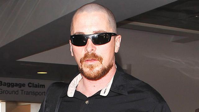 Christian Bale Shaves his Head!