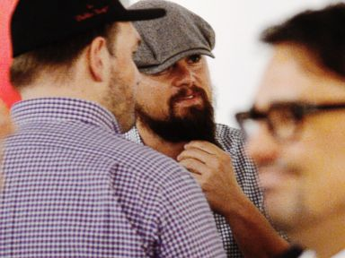 Leonardo DiCaprio Flaunts a Seriously Bushy Beard
