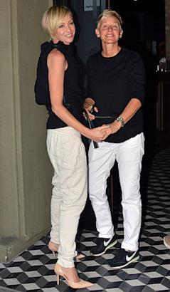 Ellen Degeneres and Portia de Rossi Celebrate Fourth Anniversary