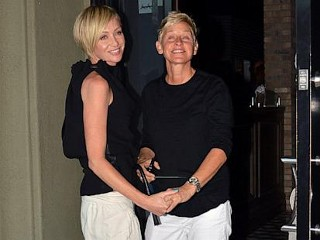 Photos: Ellen, Portia Celebrate 4 Years