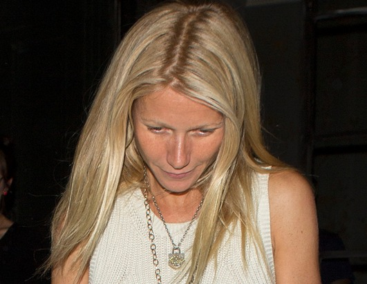 Gwyneth steps out makeup-free