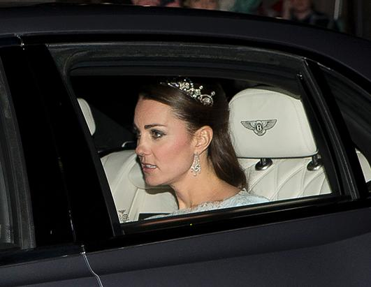 Kate Middleton Dazzles in Diamond Tiara