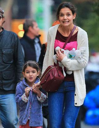 Suri Cruise's Coffee Date