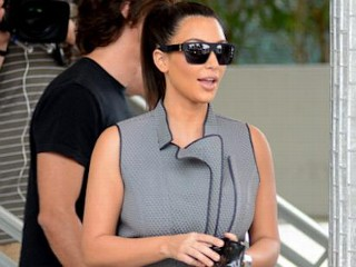 Photos: A Fashion Don't For Kim Kardashian?