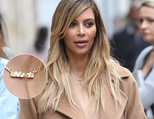 Kim Kardashian Flaunts 'Nori' Necklace in Paris