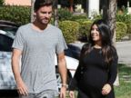 Kourtney Kardashian Enjoys a Lunch Date with Scott Disick