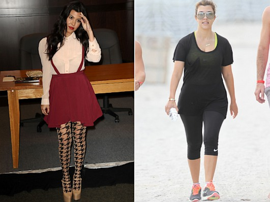 Kardashian Squats Off the Pounds