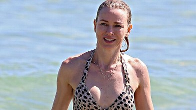 Naomi Watts Rocks a Leopard One-Piece