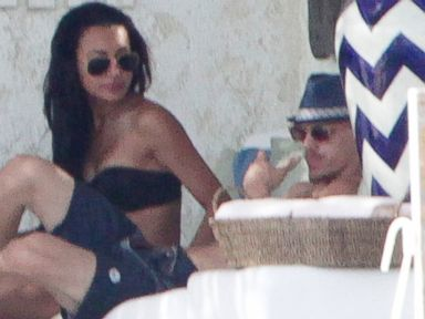 PHOTO: Naya Rivera with Ryan Dorsey in Los Cabos, Mexico, July 21, 2014.