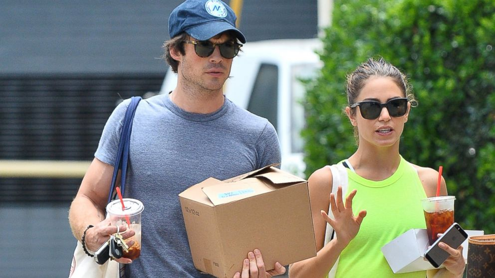 PHOTO: Nikki Reed and rumored new boyfriend Ian Somerhalder hit up the Farmers Market in Studio City.