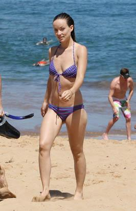 Olivia Wilde's Beach Day