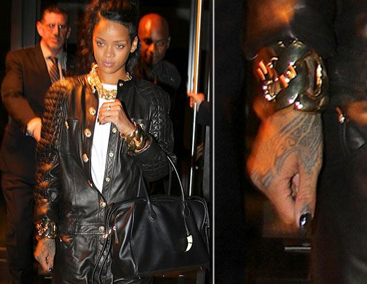 Where is Rihanna's New Tattoo?