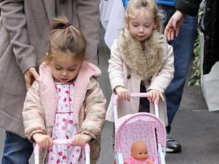 Photos: Sarah Jessica Parker's Day With Her Twins