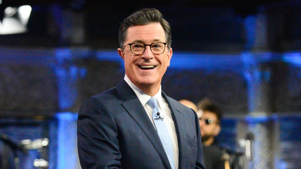 What White  House  staff should be thankful for, according to Stephen Colbert