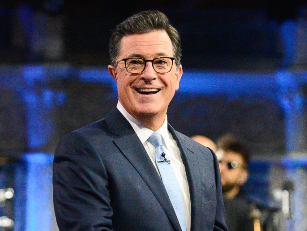 PHOTO: Stephen Colbert is pictured on The Late Show with Stephen Colbert, Aug. 3, 2017.