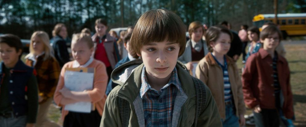 "PHOTO: Noah Schnapp appears in a scene from ""Stranger Things 2."""