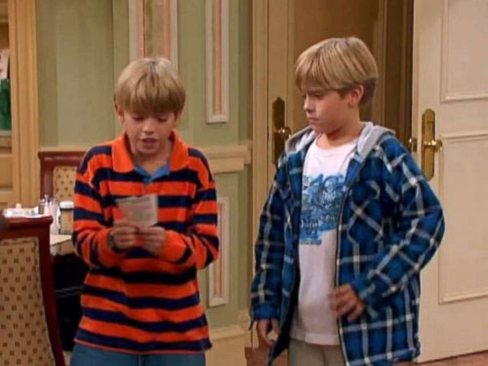 PHOTO: Cole Sprouse and Dylan Sprouse in The Suite Life of Zack and Cody, 2005.