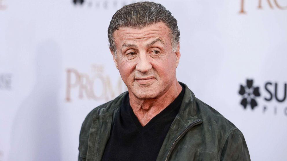 Sylvester Stallone sha...