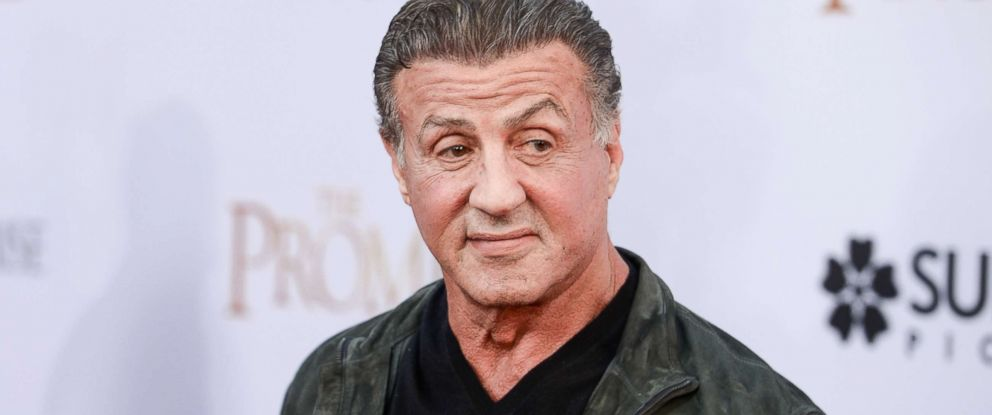 PHOTO: Sylvester Stallone arrives at the Los Angeles premiere of The Promise at TCL Chinese Theater, April 12, 2017 in Hollywood, Calif.