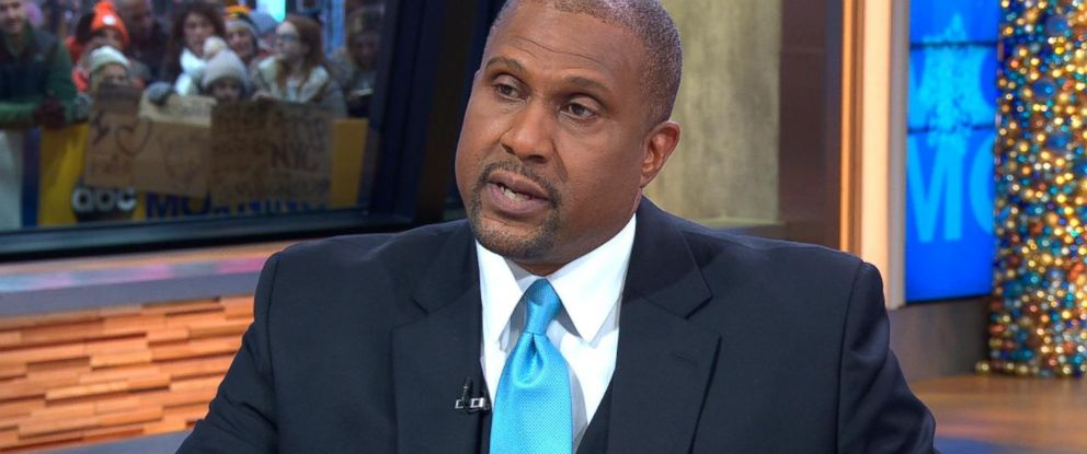 """PHOTO: Tavis Smiley appeared on """"Good Morning America"""" on Monday, Dec. 18, 2017."""