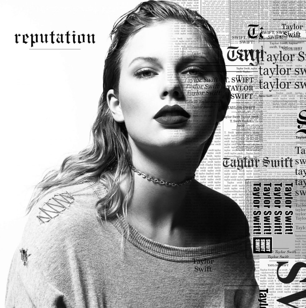 PHOTO: This cover image released by Big Machine shows art for Taylor Swifts upcoming album, reputation.