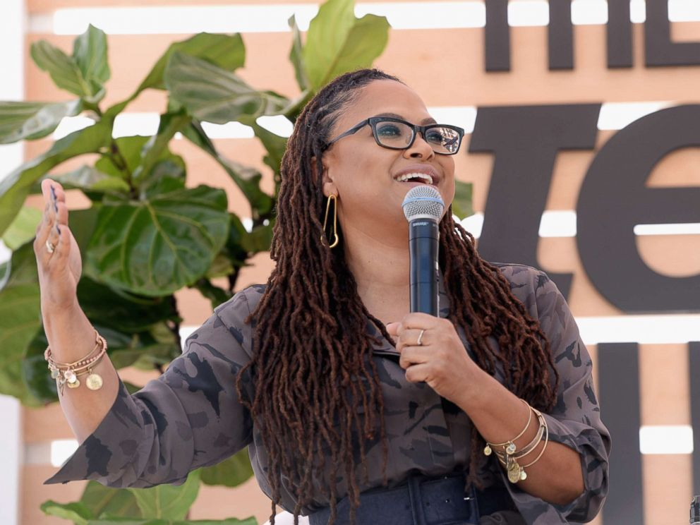 PHOTO: A Wrinkle In Time director Ava Duvernay speaks onstage during The Teen Vogue Summit, Dec. 2, 2017, in Playa Vista, Calif.