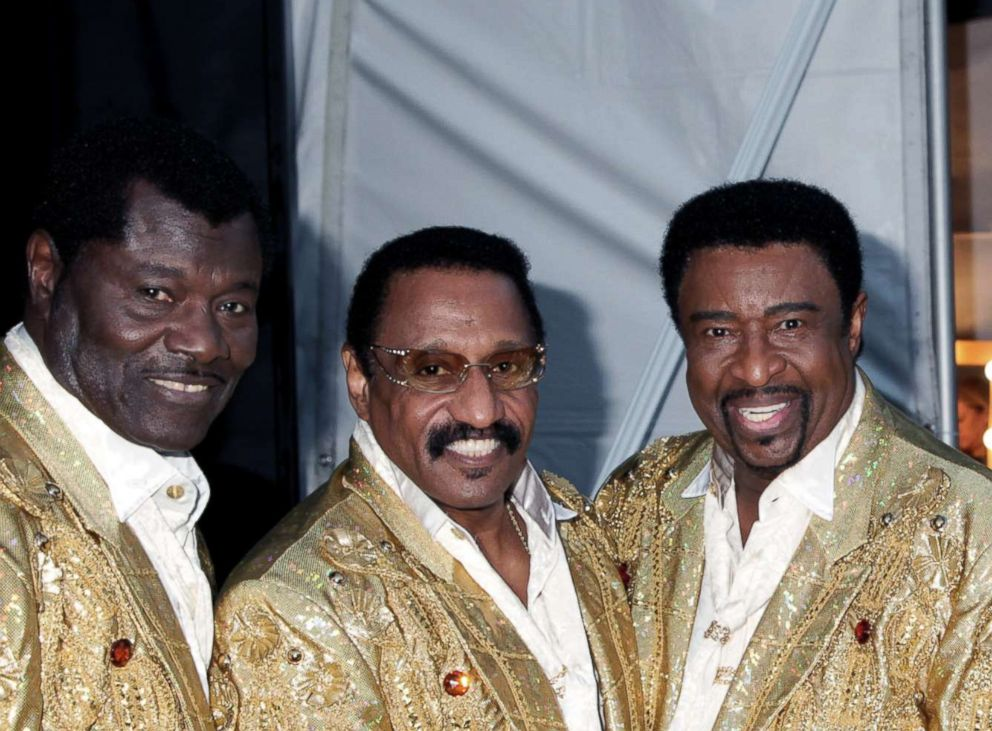 PHOTO: The Temptations (L-R) David Sea, Mike Patillo, Dennis Edwards, Chris Arnold and Paul Williams Jr. attend the Homeward Bound Telethon at American Legion Hall, Nov. 10, 2013, in Los Angeles.