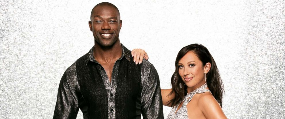 """PHOTO: Terrell Owens and pro dancer Cheryl Burke will dance together on the new season of """"Dancing With The Stars."""""""