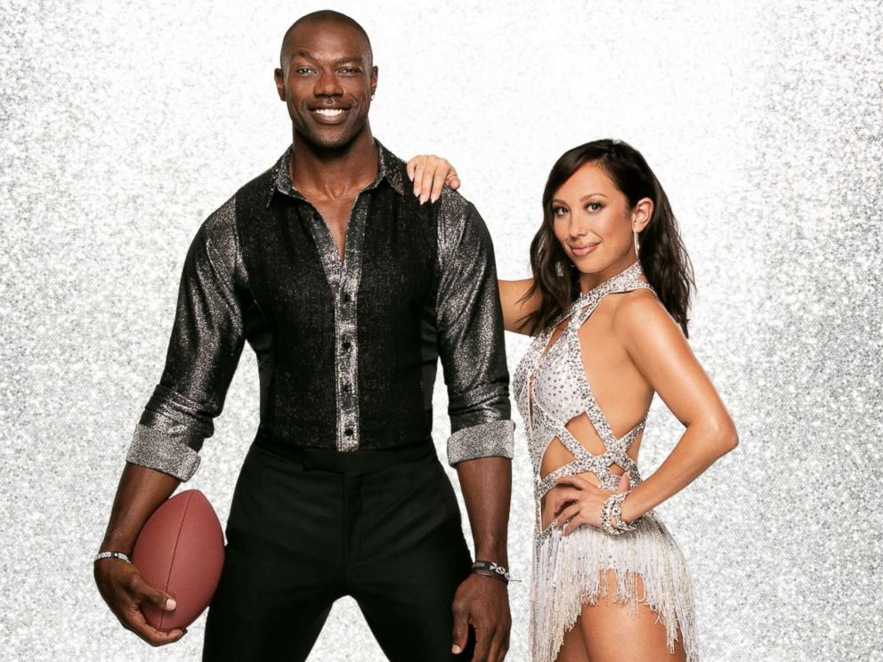 PHOTO: Terrell Owens and pro dancer Cheryl Burke will dance together on the new season of Dancing With The Stars.
