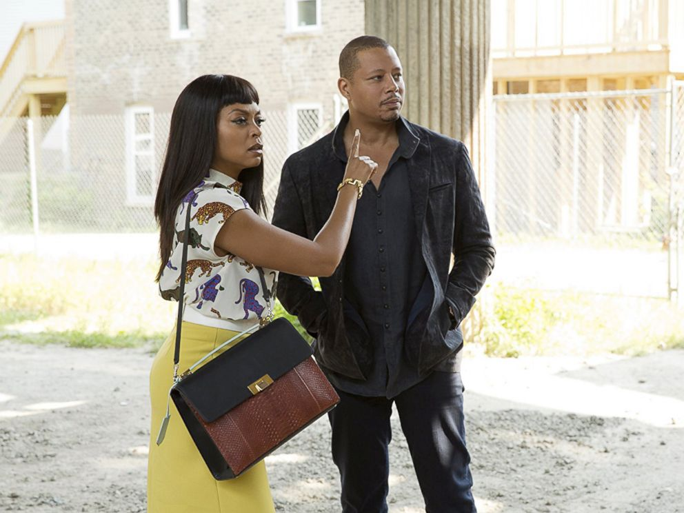 PHOTO: Terrence Howard and Taraji P. Henson in Empire, 2015.
