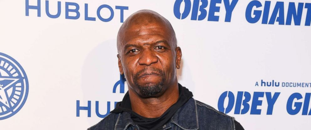 """PHOTO: Terry Crews attends Photo Op For Hulus """"Obey Giant"""" at The Theatre at Ace Hotel on Nov. 7, 2017 in Los Angeles."""